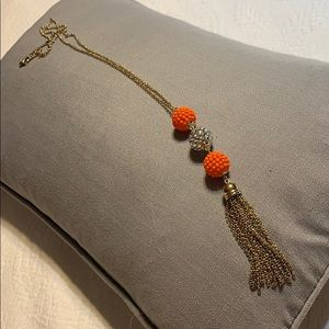 Jewelry - Long tassel fashion necklace